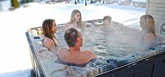 Spas designed for Quebec winters